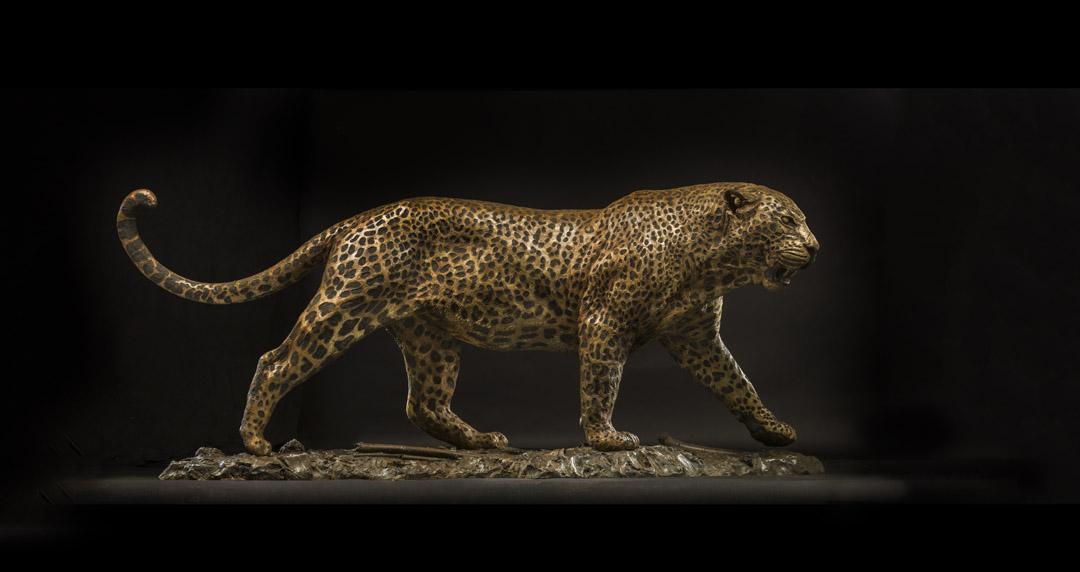 Aberdare Leopard (Life Size)